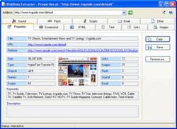 WebData Extractor