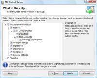 ABF Outlook Backup