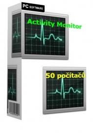 Activity Monitor 50 počítačů