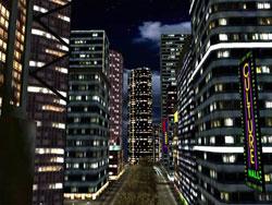 Night City 3D Screensaver